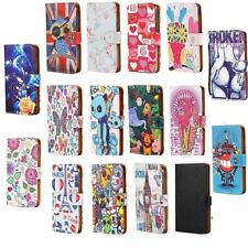 Leather Wallet Stand Magnetic Flip Case Cover For Various Huawei P8 P9 P10 Phone