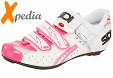 SiDi Genius 5 Fit Carbon Vernice Women's White Pink Fluo