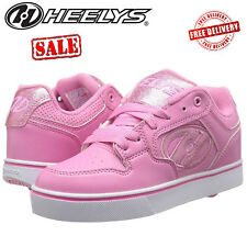 8a49a61c8851 Heelys Motion Girls Roller Skates Kids Low Tops Wheel Shoes Junior Trainers  Pink