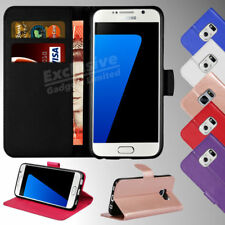 Case Cover Samsung Galaxy S7 Edge S8 S9 Magnetic Flip Leather Wallet Card Holder