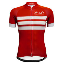 Men's Red National Short Sleeve Cycling Jersey