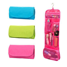 Travel Organiser Toiletries Purse Hanging Storage Cosmetic Makeup Washable Bag
