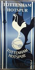 TOTTENHAM HOTSPUR FOOTBALL VELOUR BEACH TOWEL OFFICIAL MERCHANDISE 70CM X 140CM