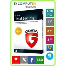 G Data Total Security 1,2,3,4,5,6,7,8,9,10 Pc 1,2,3 anni licenza elettronica