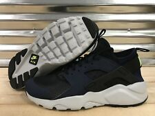 Nike Air Huarache Run Ultra Mid Running Shoes Navy Black SZ 10 ( 819685-403 )