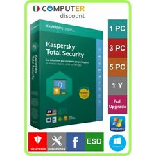 Kaspersky Total Security 1,3,5 Pc 1 anno licenza elettronica