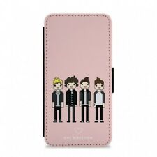 Cartoon One Direction Flip / Wallet Phone Case - Fun Cases