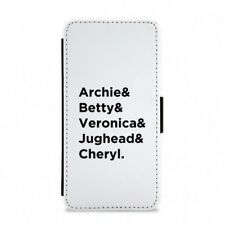 Archie, Betty, Veronica, Jughead and Cheryl - Riverdale Flip / Wallet Phone Case
