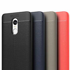 *For Xiaomi Redmi  Note 5 *Shockproof Leather Pattern Soft Tpu Back Case Cover