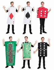 Ace Of Spades DIAMANTI CARTE ROULETTE PISCINA DOMINO Poker Dadi Casinò Costume