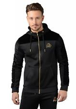 Kings Will Dream Men's Searles Poly Velour panel hoodie Black