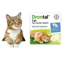 Drontal Bayer Dewormer for Cat Allworms Round and Tap Worm