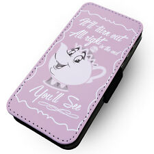 All Right In The End - Printed Faux Leather Flip Phone Case #1