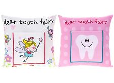 Girls Childrens Cute Tooth Fairy Pillow Cushion With Pocket Tradition Gift Idea