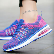 Women's Sneakers Lace up Mesh Running Breathable Fashion Casual Sport Shoes