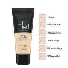 Maybelline Fit Me! Matte Poreless Foundation Normal Oily 30ml