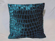 Designers Guild Velvet Fabric Nabucco Turquoise Cushion Covers 7 Size Available