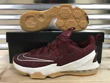 Nike Lebron XIII 13 Low Basketball Shoes Cavs Team Red Sail SZ ( 831925-610 )