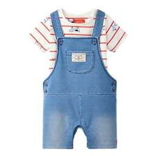Joules Baby Dungaree Set Sea Dog BabyDuncanDen