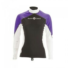 Aqualung Athletic FIT lycras Lavanda MUELLE mujer manga larga talla S XL MUJER