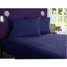 """New Collection Egyptian Cotton Duvet Collection Select Size&Item """"Navy Blue"""""""