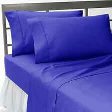 New Collection Egyptian Cotton Duvet Collection Select Size-Egyptian Blue