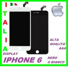 TOUCH SCREEN FRAME VETRO LCD DISPLAY RETINA SCHERMO PER APPLE IPHONE 6
