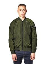 WEEKEND OFFENDER MEN'S BRADBURY BOMBER JACKET OLIVE
