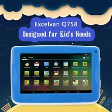 "Kinder Tablet PC 7"" Pad Android 4.4 512MB+8GB 2*Kamera WIFI+External 3G 1024*600"