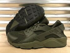 Nike Air Huarache Run Running Shoes Cargo Khaki Green SZ 15 ( 318429-308 )