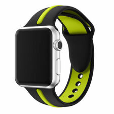 For Apple Watch Series 1 / 2 / 3 Band Strap Bracelet Replacement New BLK-Green