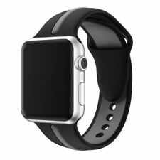 For Apple Watch Series 1 / 2 / 3 Band Strap Bracelet Replacement New BLK-Gray