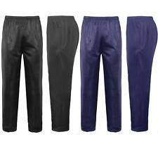 Mens New Silky Work Wear Gym Casual Tracksuit Track Bottoms Pants Trousers S-6XL
