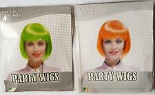 ladies woman short bob fancy dress wig cosplay pop party costume