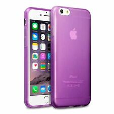 Crystal Clear Coloured TPU Jelly Case Bumper Back Cover for iPhone 6 6S 5S 5C