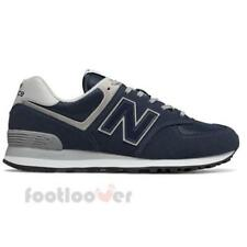 Scarpe New Balance 574 ML574EGN Uomo Sneakers Running Moda Casual Navy Suede