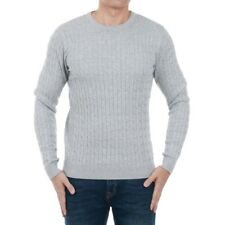 Jack&Jones Homme Pull Gris Manches longues Col rond 20176-02
