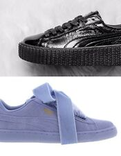 NEW Puma x Rihanna Fenty Leather CREEPER WRINKLED PATENT/ PUMA Suede Heart RESET