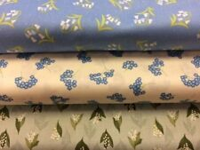Lewis and Irene Flo's Wildflowers Collection 100% Cotton by the half metre