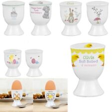 PERSONALISED Easter Egg Cup Girl Boy Easter Gift Present Easter Bunny Chick