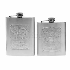 Silver Engraved Liquor Hip Flask Whiskey Vodka Alcohol Wine Flagon Bottle Gift