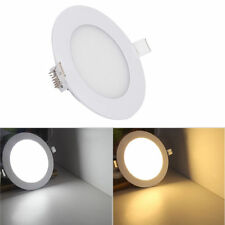 2x 3W 6W 9W 12W 18W LED Downlight Slim Panel Focos empotrables Placa Fría Cálido