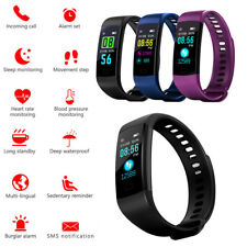 Y5 Smart Watch Sports Fitness Activity Heart Rate Tracker Blood Pressure Watch