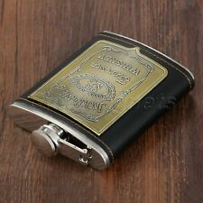 Stylish Pocket Liquor Hip Flask Whiskey Vodka Alcohol Wine Flagon Bottle 7oz