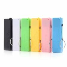 Portable Mobile Power Bank USB 18650 Battery Charger Key Chain for iPhone MP3 GH