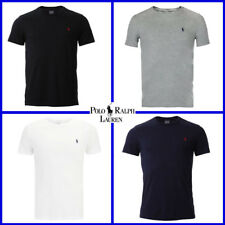 BNWT Men Polo Ralph Lauren Crew Neck Short Sleeve T-shirt in 4 Colours