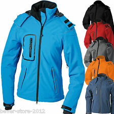 donna inverno giacca Softshell Giacca Donna S M L XL XXL WIND E IMPERMEABILE