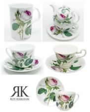 Roy Kirkham Redoute Rose Cina tazza da tè, piattini, tazze o Tea For One set
