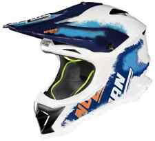 Casco NOLAN N53 LAZY BOY WHITE/BLUE/ORANGE