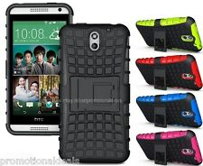 PREMIUM STYLE GRIP RUGGED SKIN HARD CASE COVER FOR HTC DESIRE 610